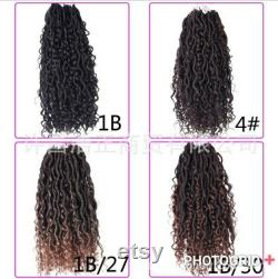 Boho curls,Boho Faux Locs, Déesse Locs, Short Boho locs, MerMaid Locs, Dread locs, Short Locks, Lace frontal locs, Braided Wig