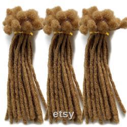 Cheveux humains Dreadlocks Handmade Locs Petite taille 0.4cm Largeur sont vendus en paquets avec 120 locs par paquet