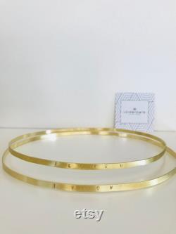Couronnes d or, Paire de couronnes de mariage, couronnes de mariage chrétiennes orthodoxes, Stefana, Bijoux de mariage, Couronnes faites à la main