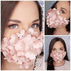 Couture 3D Satin 3 Couche Ajusté Filtre Poche Coton Lin Masque visage Réutilisable Lavable Cadeau de Noël Satin Masque visage Adulte Enfants
