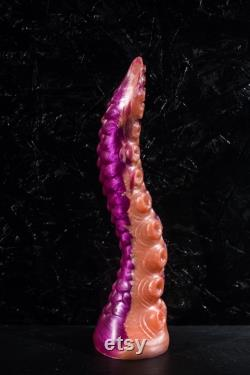 Custom silicone dildo tentacule 36 cm longueur taille L