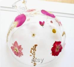 Dôme en verre personnalisé SEULEMENT Dôme diffuseur botanique Aria Dôme diffuseur Cadeau d huiles essentielles Dôme floral Boho Decor Young Living MeerkatBlue