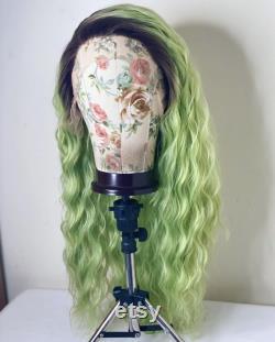 Drag Queen Perruque, Drag Wig, Drag Performer Perruque, Perruque Dentelle, Drag Wig. Perruque cosplay, cheveux de traînée, perruque avant de dentelle, drag queen, perruques de luxe