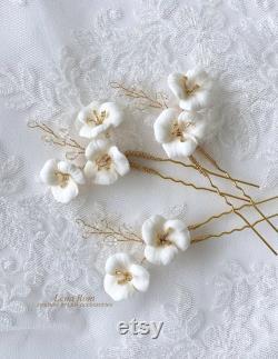 Épingles de cheveux de mariée. Épingles à cheveux de fleur. Épingles à cheveux de mariage. Style 227