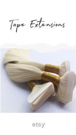 Extensions de cheveux de bande Remy Cuticle Extensions