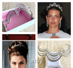 GRACE KELLY Tiara style Royal Monaco Princesse Grace Kelly Tiara style Diadème américain