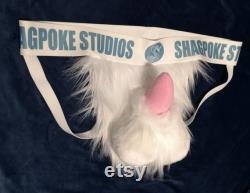 Gaine de combinaison en fourrure Jockstrap portable