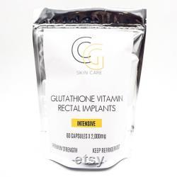 Glutathione Rectal Suppositoires 2,000mg
