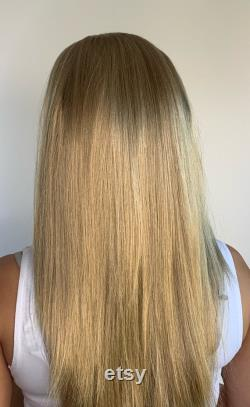 Gym Swim Headband Wig Long Length champagne blonde perruque perte de cheveux perruque d alopécie