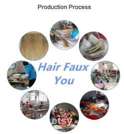 Hair Faux You 22 100 grammes,100 brins, Flat Tip Fusion Kératine Pré Bonded Remy Human Hair Extensions 1 Jet Black