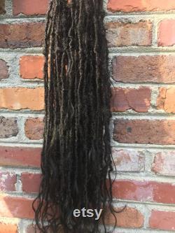 Handmade Locs Gypsy Lisa Bonet Inspiré extensions de cheveux Déesse Locs Crochet Locs Boho Locs Boho Locs 90 Locs