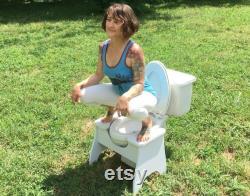 High POOP STOOP Full-Squat Toilet Foot Stool New Design