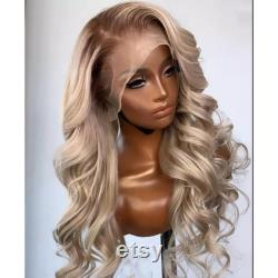 Honey Blonde Lace Wig Colored 13x6x1 Lace Front