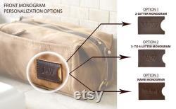 Kit Dopp personnalisé Sac de toilette extensible pour hommes, cadeau monogramme de la fête des Pères, cadeau d anniversaire pour lui, cadeau groomsmen, fabriqué aux États-Unis