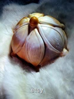 La fleur de vie masseur personnel en Silicone platine