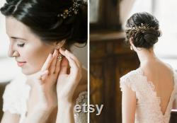 Mariée cheveux de vigne Peigne de cheveux nuptials Tête nuptiale cheveux robe de mariée peigne cheveux de mariée épingles à cheveux Mariage pièce de cheveux Pièce de mariage Casque de mariage
