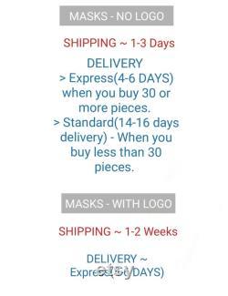 Masques personnalisés avec poche filtre Masques facinaux en linge Masques en vrac Masque personnalisé en vrac Masques de gros Masques de mariage