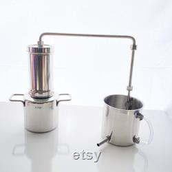 Mother s Day Gift LETIME Essential Oil Distiller, 3L Essential Oil Distiller Kit, Stainless Steel Distiller Making Hydrosol, EO