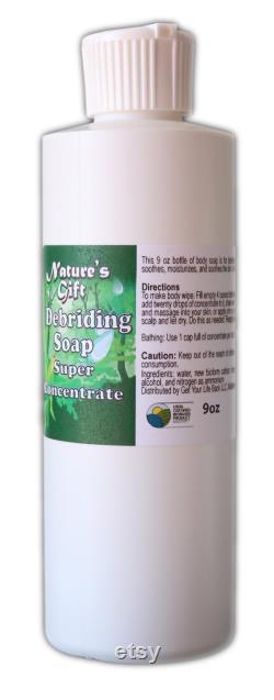 Nature s Gift Debriding Soap Super Concentrate ( 9 oz )