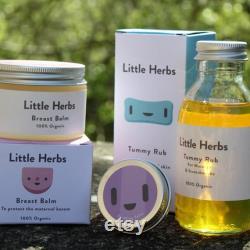 New Mother Essentials ensemble de cadeaux de soins de la peau biologiques