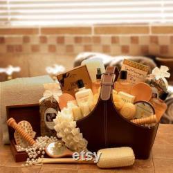 Panier-cadeau pour femmes Spa Baskets Spa pour son spa Perfect Relax Rejuvenate Tote Mother s Day Paniers-cadeaux