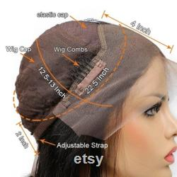 Perruque avant en dentelle ombre cheveux humains perruques faites à la main perruque en dentelle complète pré-pincée perruque avant 13x6 perruque frontale extensions de cheveux perruques perruque personnalisée dentelle