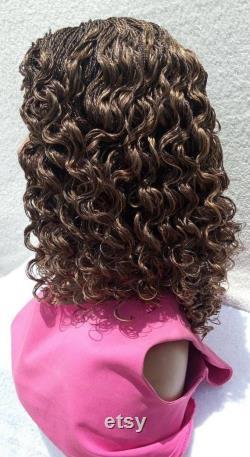 Perruque tressée, perruque pleine de dentelle, perruque pour les femmes noires