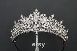 RENEE Swarovski Bridal Tiara, Couronne de mariage, Tiara nuptiale, Swarovski Crystals Tiara, Casque de mariage, Couronne de mariage magnifique