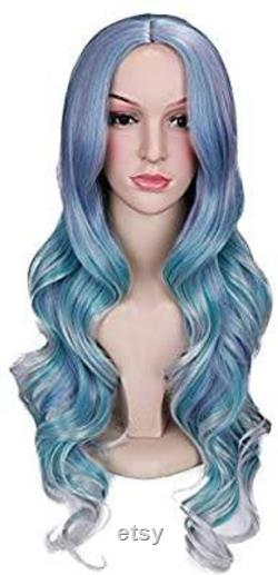 Rainbow Wavy Beauty Full Wig
