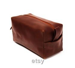 Sac en cuir Dopp Kit, Sac de toilette en cuir personnalisé, kit de rasage, sac de voyage, cadeau Groomsmen, cadeaux pour hommes, mens toiletry sac monogramme