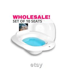 Vente en gros Ensemble de 10 sur les sièges de toilette pour le bain sitz trempage et yoni cuisson à la vapeur