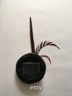 Véritable fascinateur à damier en cuir