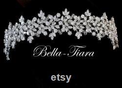 bandeau en cristal swarovski, bandeau de mariage en cristal, bandeau de mariée en cristal, casque de mariage, casque de mariée, bandeau de mariage large